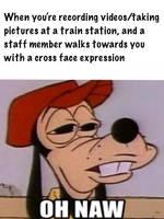 Train spotting situation meme by trainnerdFromDenmark