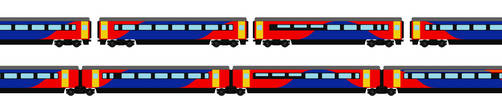 Emmet and Colin the InterCity 250 (normal and TGV) by trainnerdFromDenmark