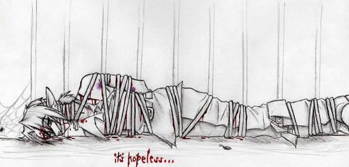 Link in prison by Talonclawfange