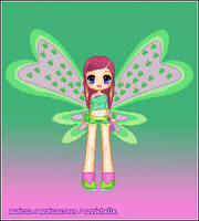 Roxy Believix Pixel Doll by marisaa7989