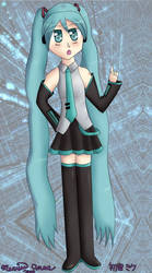 Vocaloid - Hatsune Miku by marisaa7989