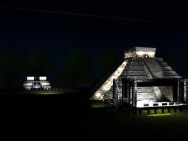 The Castle - Chichen Itza by hrgpac