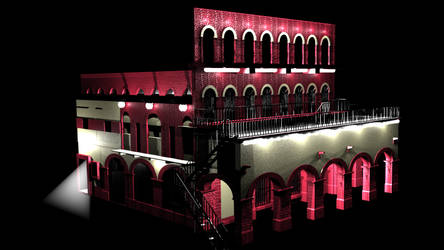 Garibaldi Red Building by hrgpac