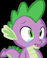 Spike crying by chrisgotjar