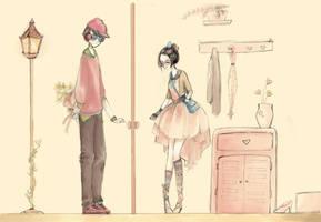 Late Valentine by Mokonochan
