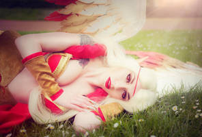 Fallen Angel - Exiled Morgana Cosplay by KimontheRocks