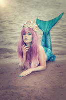 Pastel Mermaid by KimontheRocks