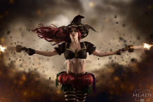 Halloween Miss Fortune Cosplay - League of Legends by KimontheRocks