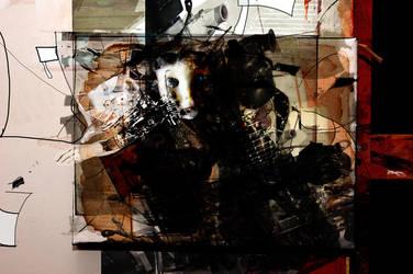 non sense on canvas by kanadam