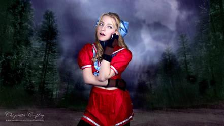 Karin Kanzuki - Street Fighter by chiquitita-cosplay