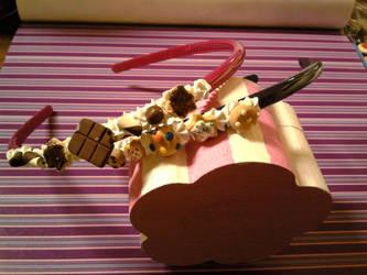 Sweet headbands by WickedMarionette