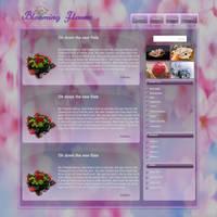 Blooming Flowers by JillySB