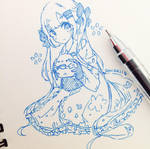 Blue by Sonakii