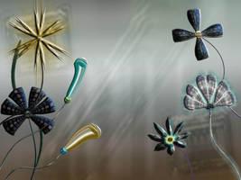 Digital Flowers by CorneliaMladenova