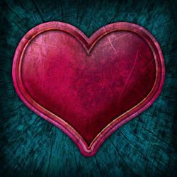 Create Grunge Style Valentine Heart in Photoshop by CorneliaMladenova