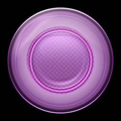 How to Create Unique Purple Orb Style Button by CorneliaMladenova