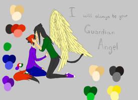 Angel WIP by KayKatastr0phe