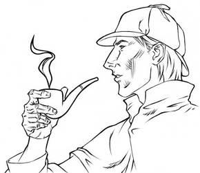 Sherlock Holmes by dewlap