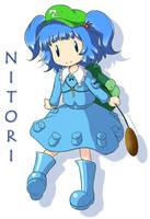 Nitori Kawashiro by Mazume