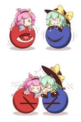 Komeiji Sisters by Mazume