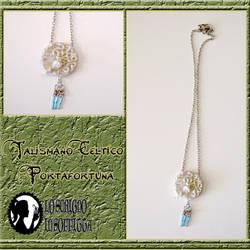 Silver talisman by Tamiyo-Cosplay