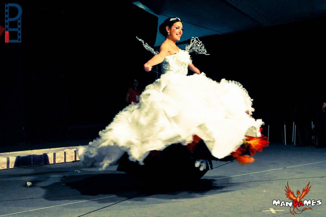 Katniss Wedding Dress Trasformation By Tamiyo Cosplay On Deviantart