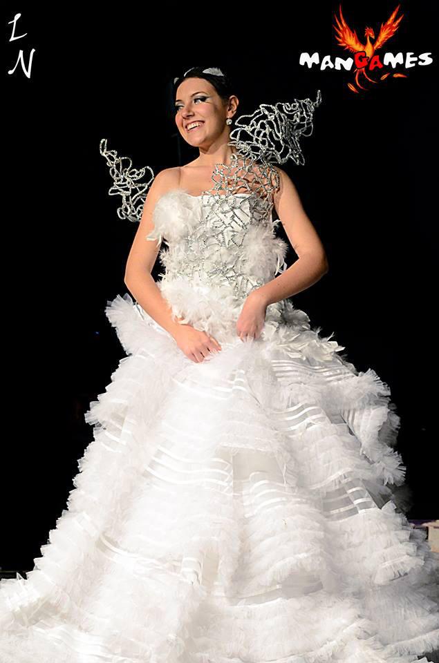 Katniss Everdeen Wedding Dress By Tamiyo Cosplay On Deviantart