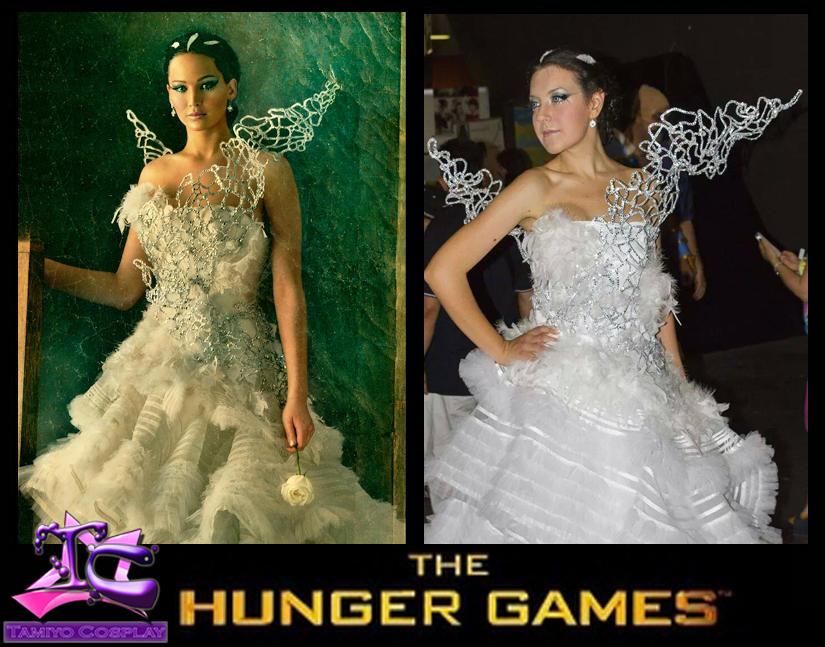 Katniss Everdeen Costume Cosplay Wedding Dress By Tamiyo Cosplay On