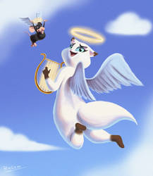 Angel Tammy by Bagam-The-Animator
