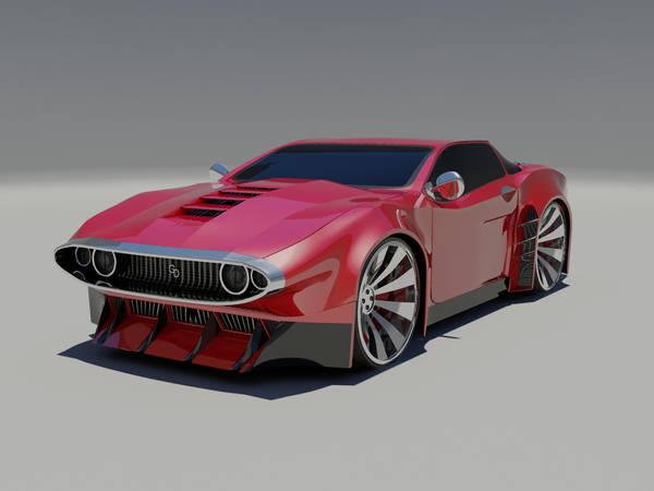 Muscle Car Concept By Gabriel A D On Deviantart