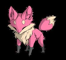 Skitty Fox Adoptable by pokemongirl223