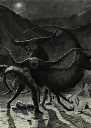 Atack of anal bulls by vergvoktre