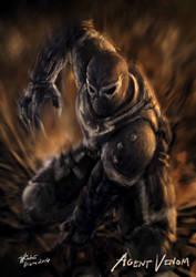 Agent Venom by rodreidizon