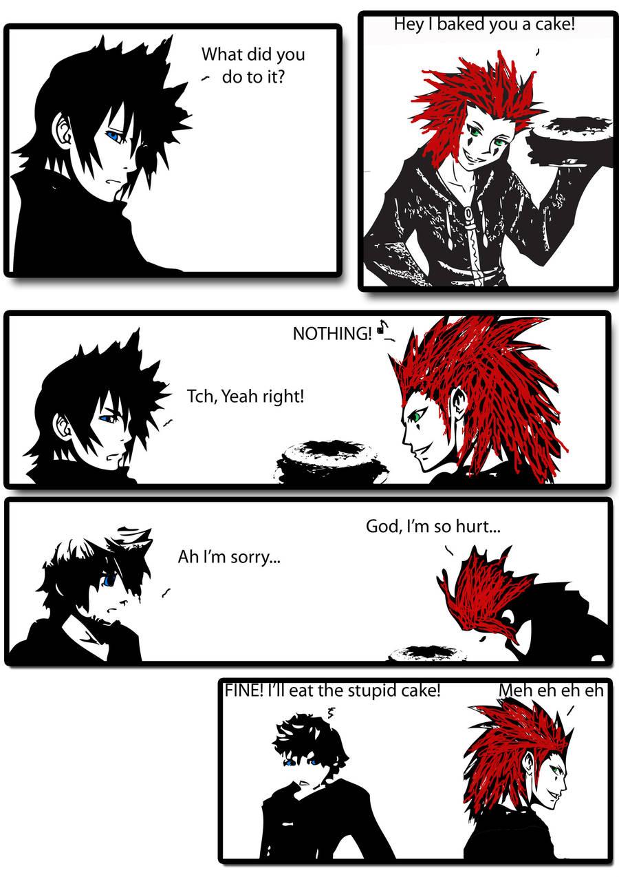 Axel And Roxas Kingdom Hearts Comic Wwwtollebildcom