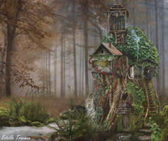 Tree House Lodge by needcaffine