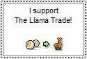 Llama Trade Stamp by ShonenJump4eva