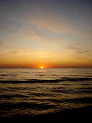 At set of sun by kitjute