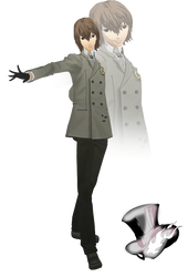 MMD Goro Akechi(Winter Suit) Model Download by TwoSidedMMD
