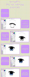 SAI eye coloring tutorial by Hermy87