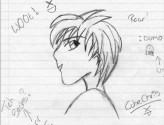 My Friend Chris. by Lum-uk