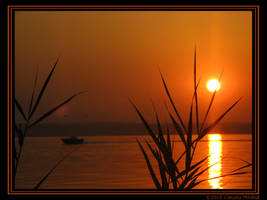 Siutghiol sunset by klaudelu