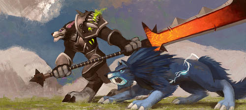 Worgen Hunter by KE-M72