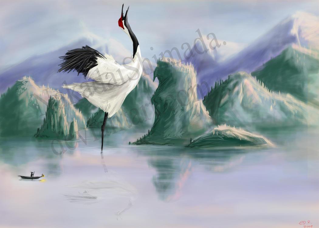 Shang Yang: The Rain Bird by NakadaiShimada