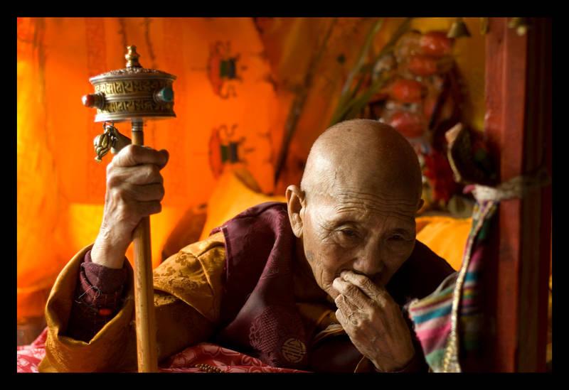 Ven. Khacho Wangmo Rinpoche by kunsang