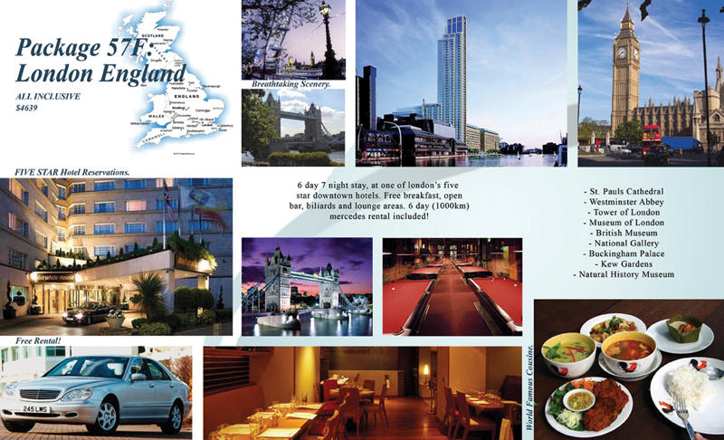 Travel Brochure inside by gcGraphics