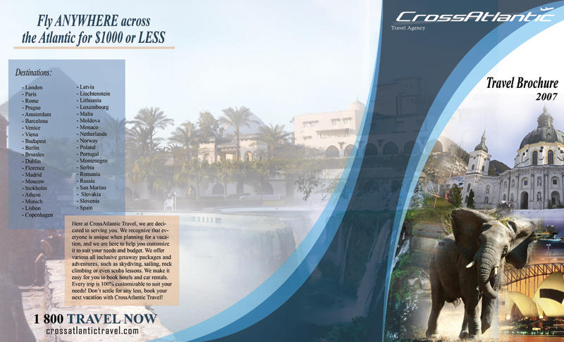 Travel Brochure Outside by gcGraphics