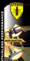 Stebro Mufflers Ad - issue by gcGraphics