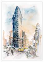 Delirious New York by koloranek