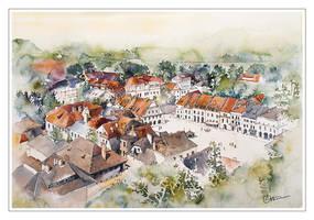 Old Market in Kazimierz Dolny by koloranek