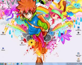 My actual desktop by Dreacv2